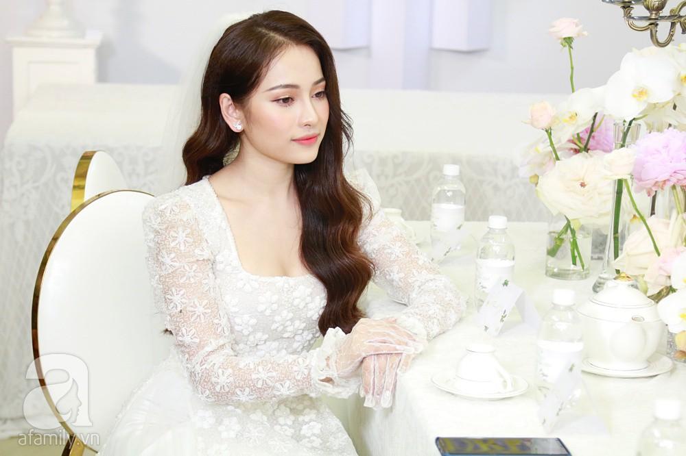 Đám cưới Dương Khắc Linh - Sara Lưu: Những hình ảnh đầu tiên của cô dâu trước giờ vu quy - Ảnh 6.