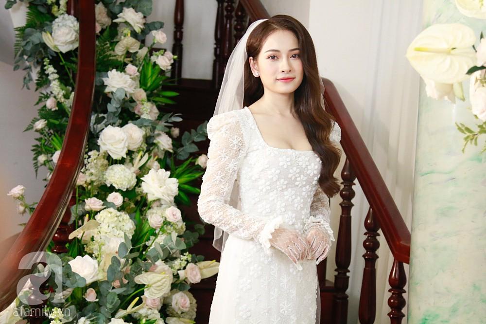 Đám cưới Dương Khắc Linh - Sara Lưu: Những hình ảnh đầu tiên của cô dâu trước giờ vu quy - Ảnh 10.