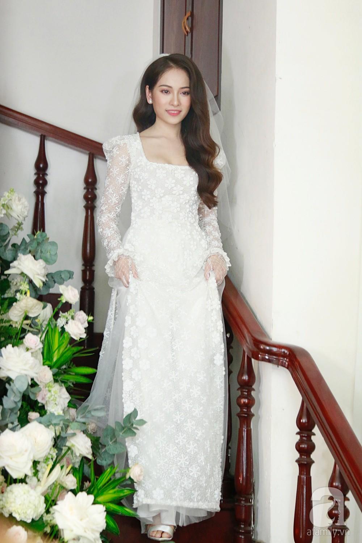 Đám cưới Dương Khắc Linh - Sara Lưu: Những hình ảnh đầu tiên của cô dâu trước giờ vu quy - Ảnh 11.