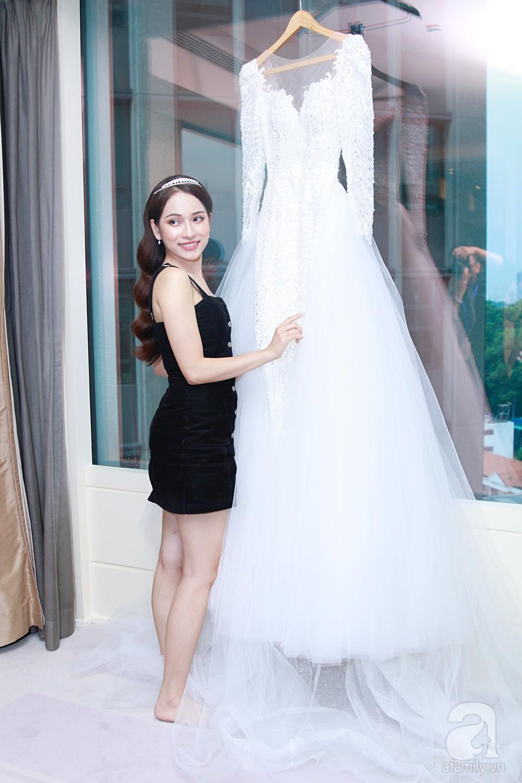 Độc quyền: Sara Lưu âu yếm Dương Khắc Linh trong phòng cưới trước giờ G  - Ảnh 7.