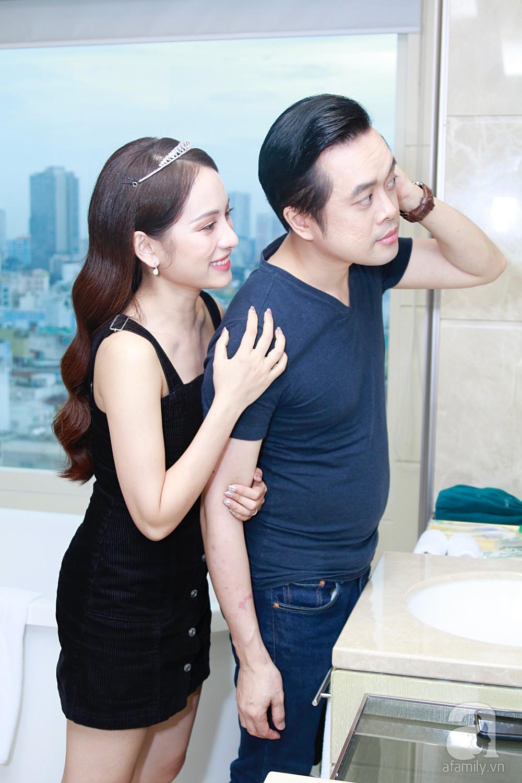 Độc quyền: Sara Lưu âu yếm Dương Khắc Linh trong phòng cưới trước giờ G  - Ảnh 17.