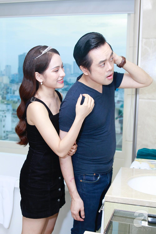 Độc quyền: Sara Lưu âu yếm Dương Khắc Linh trong phòng cưới trước giờ G  - Ảnh 18.