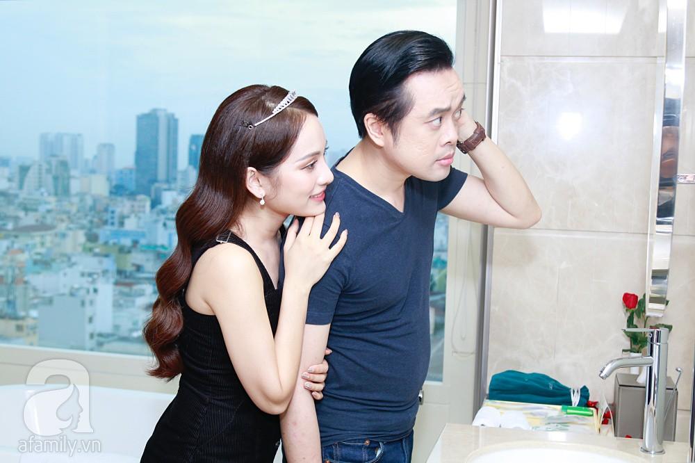 Độc quyền: Sara Lưu âu yếm Dương Khắc Linh trong phòng cưới trước giờ G  - Ảnh 19.