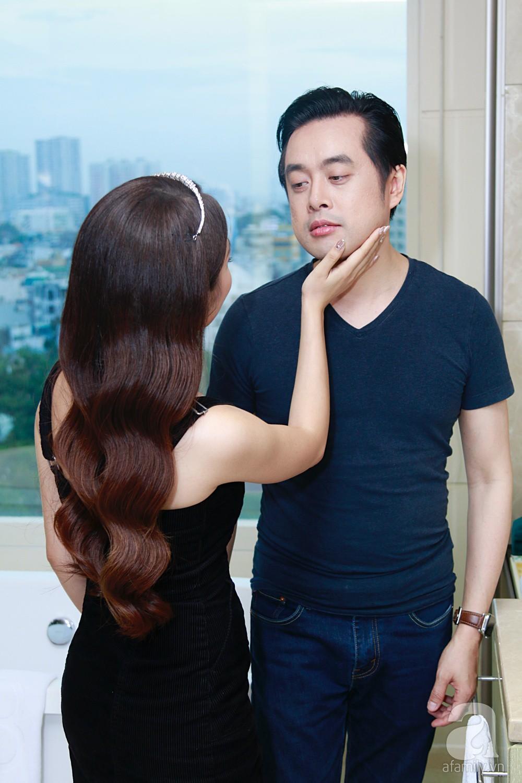 Độc quyền: Sara Lưu âu yếm Dương Khắc Linh trong phòng cưới trước giờ G  - Ảnh 20.