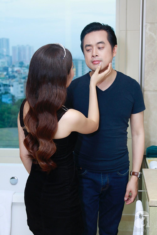 Độc quyền: Sara Lưu âu yếm Dương Khắc Linh trong phòng cưới trước giờ G  - Ảnh 21.