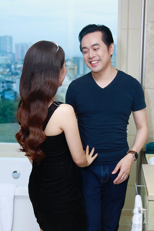 Độc quyền: Sara Lưu âu yếm Dương Khắc Linh trong phòng cưới trước giờ G  - Ảnh 22.