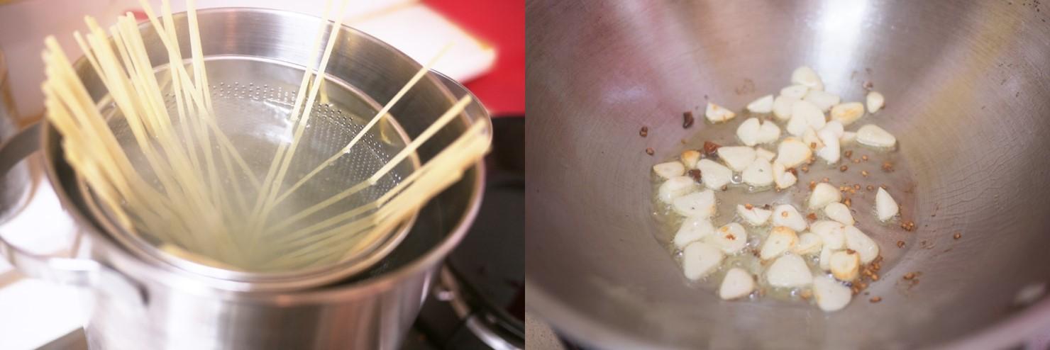 Mỳ Ý xào ngao - Ảnh 2.
