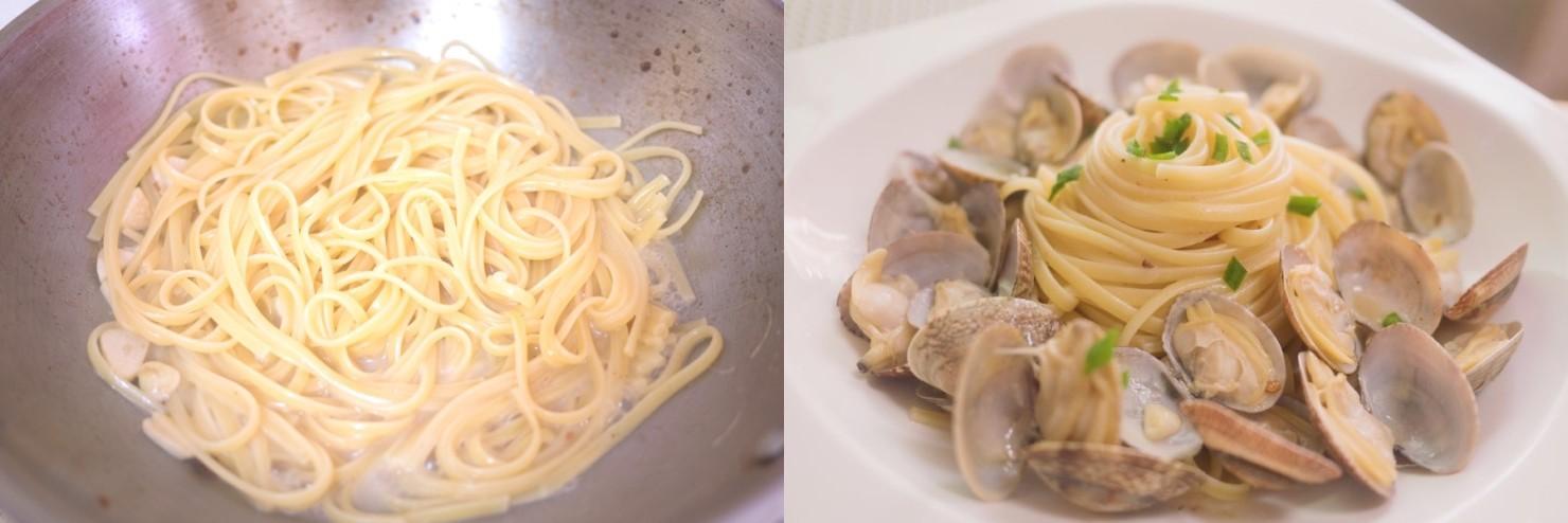 Mỳ Ý xào ngao - Ảnh 4.