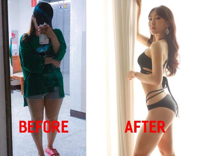 """Những màn Before - After """"siêu đỉnh"""" từ gái Hàn: giảm được 10 - 20kg là chuyện quá bình thường - Ảnh 20."""