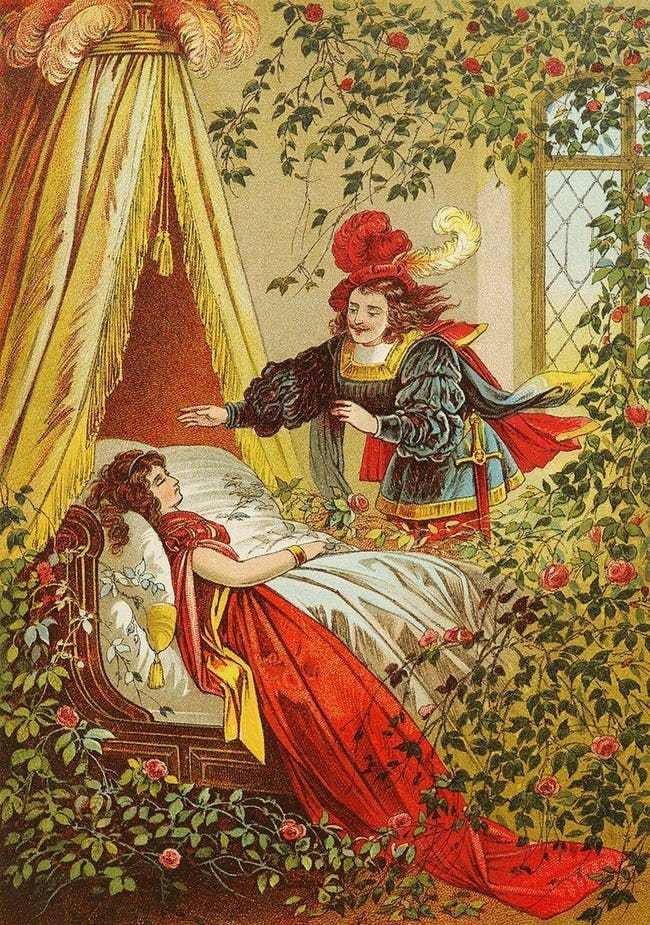 Sự thật về cổ tích Công chúa ngủ trong rừng: Câu chuyện nhuốm màu đen tối từ cưỡng bức, ngoại tình đến giết vợ để chạy theo nhân tình - Ảnh 5.