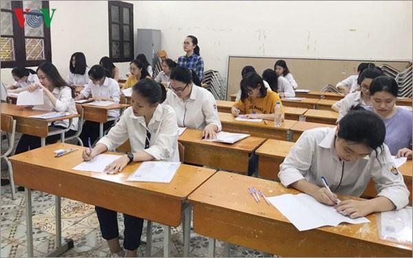 Thi môn ngữ văn THPT Quốc gia 2019: 22 thí sinh bị đình chỉ thi