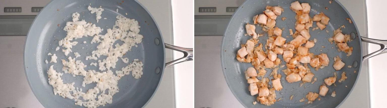 """Học đầu bếp Nhật làm cơm chiên trứng ngon đẹp """"rụng rời""""! - Ảnh 3."""