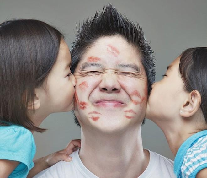 Con gái bám bố là hiển nhiên nhưng trường hợp này lại khiến người khác phải nóng mặt - Ảnh 2.