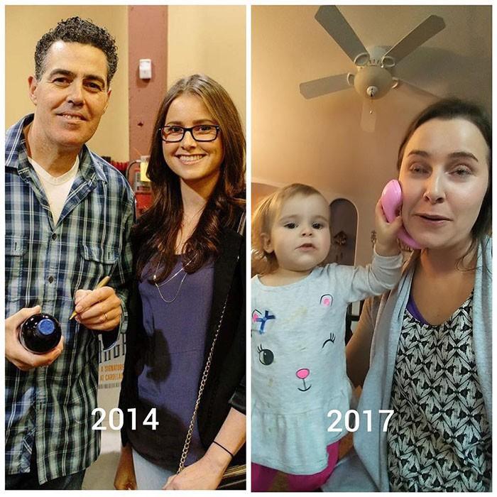 """Hình ảnh trước và sau khi làm cha mẹ của các """"dân chơi"""" sẽ cho bạn thấy việc nuôi con khắc nghiệt đến mức nào - Ảnh 14."""