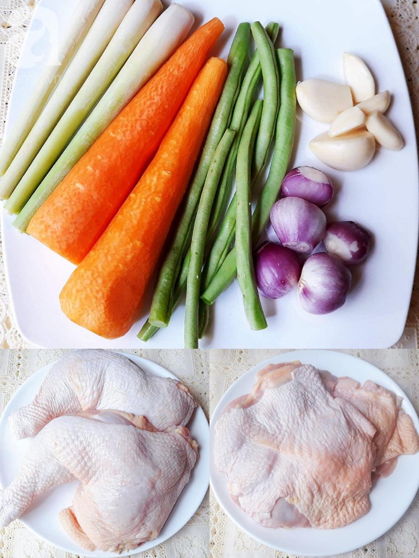 Bữa tối ngon đẹp như nhà hàng với món gà cuộn rau củ nướng thơm phức - Ảnh 1.