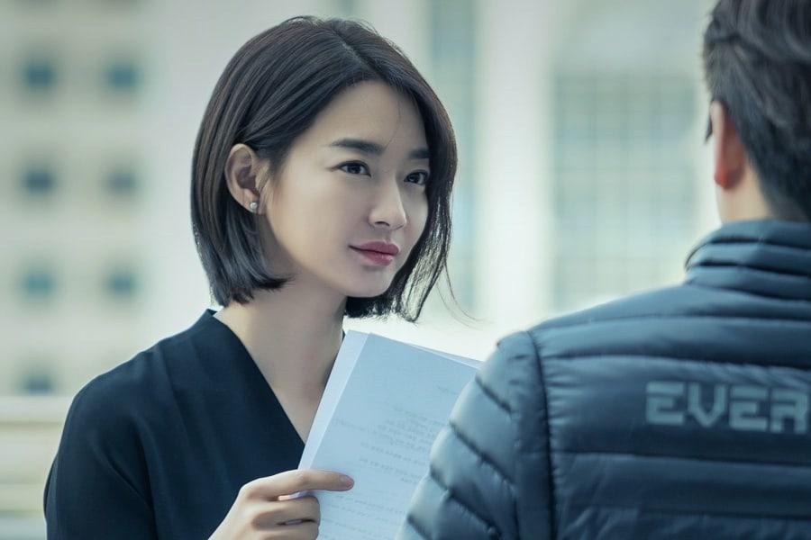 Từ khi cắt tóc ngắn, Shin Min Ah bỗng dưng hóa lạnh lùng, gai góc thế này - Ảnh 1.