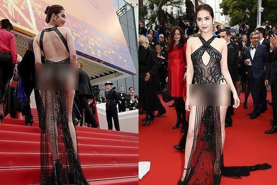 Bộ trưởng Văn hóa: Cần lên án gay gắt việc Ngọc Trinh mặc phản cảm tại Cannes - Ảnh 1.