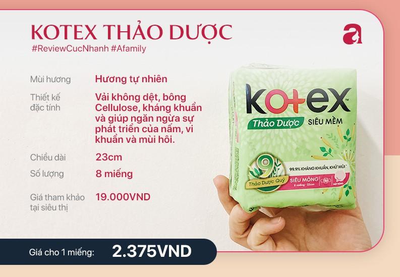 Review băng vệ sinh Kotex thảo dược - Ảnh 4.