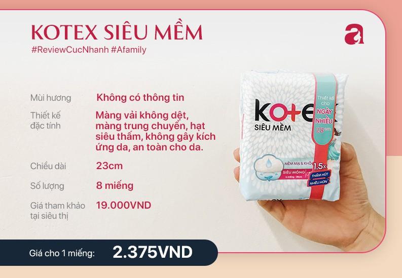 Review băng vệ sinh Kotex siêu mềm - Ảnh 3.