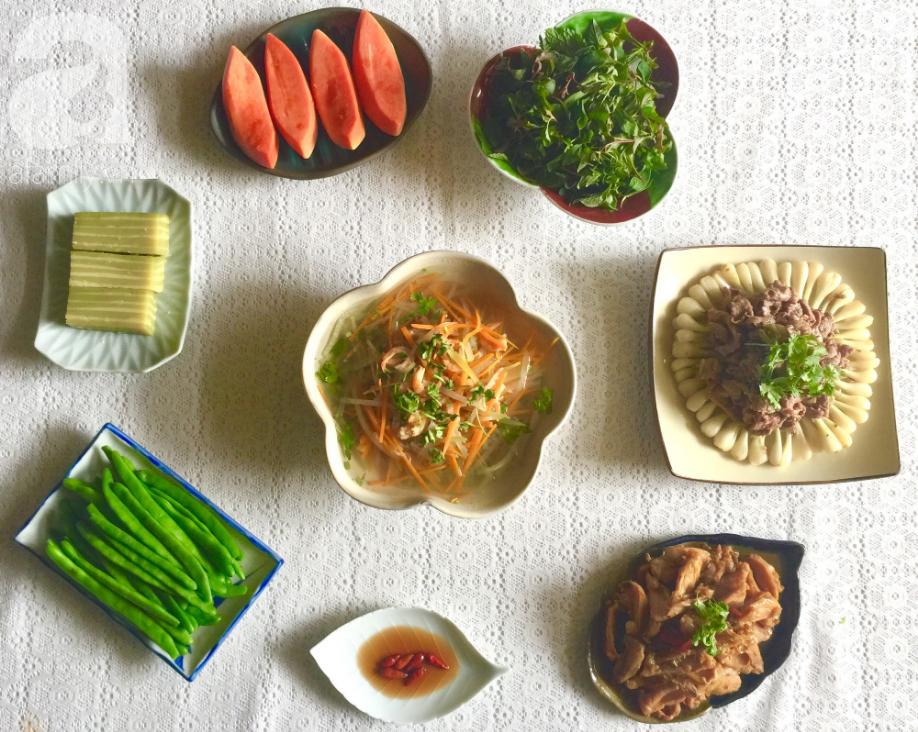 Mâm cơm cuối tuần ngon đẹp thế này thì chồng về nhà ăn không thiếu bữa nào - Ảnh 1.