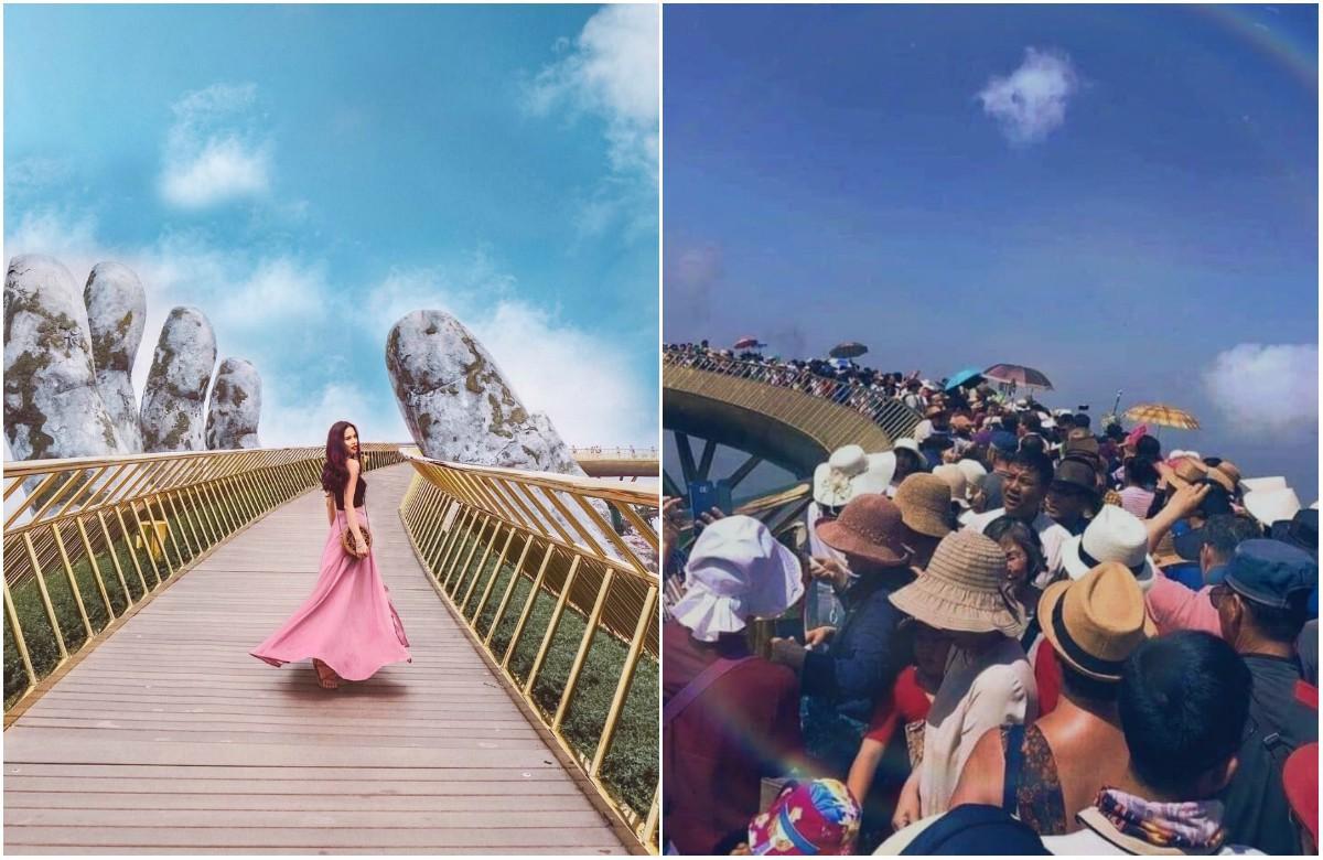 """Từ những hình ảnh du lịch """"trên mạng"""" và """"thực tế"""" sau đây, bạn sẽ thấy: đời không như là mơ nếu còn trao niềm tin vào... mạng xã hội - Ảnh 1."""