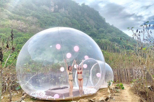 Khách sạn bong bóng ở Badung