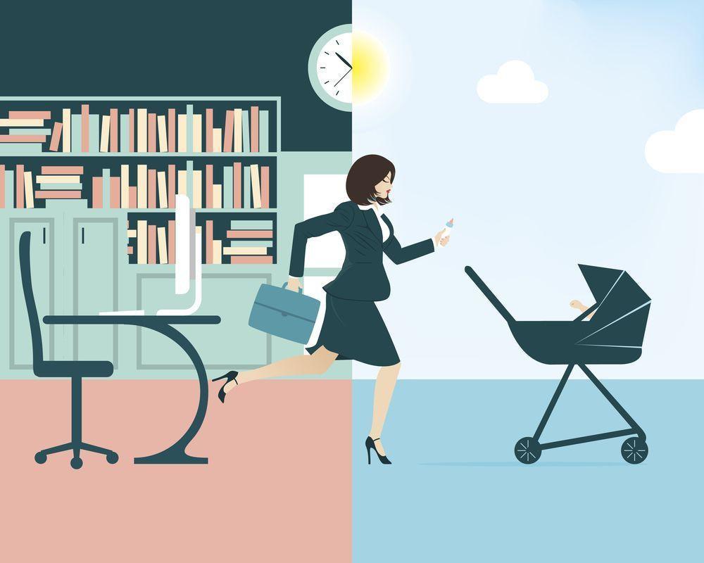 working_mom_illustration