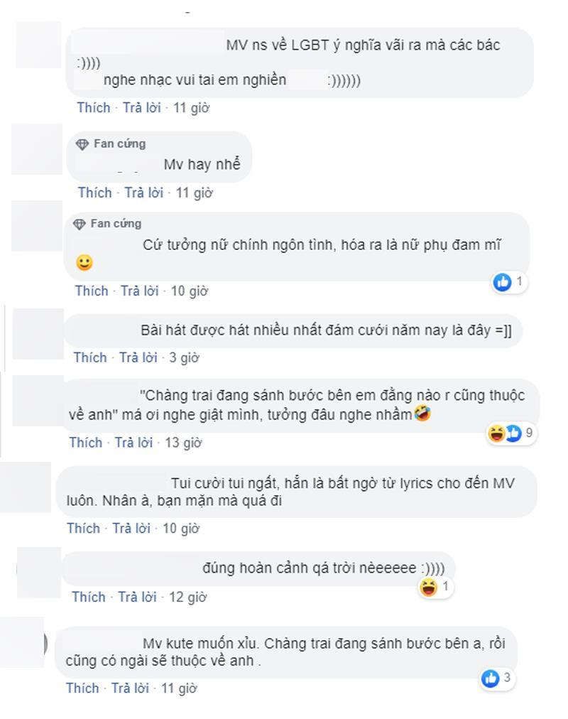 """Cả cộng đồng mạng lẫn dàn sao Việt đều điêu đứng vì loạt ca từ quá """"bạo"""" và màn cướp rể trong MV của Trúc Nhân - Ảnh 5."""