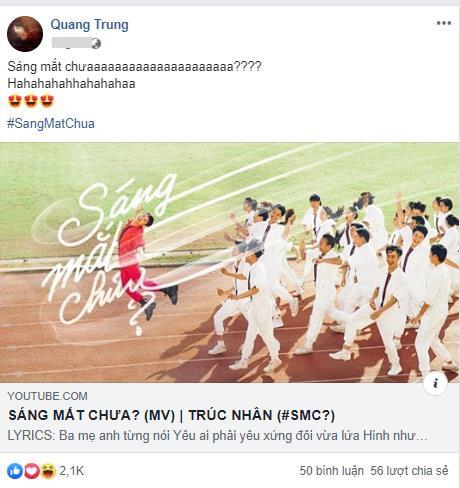 """Cả cộng đồng mạng lẫn dàn sao Việt đều điêu đứng vì loạt ca từ quá """"bạo"""" và màn cướp rể trong MV của Trúc Nhân - Ảnh 7."""