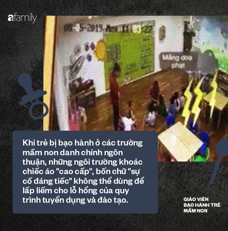 Từ những vụ đánh, nhốt trẻ vào tủ quần áo: Không yêu trẻ con đừng làm nghề nuôi dạy trẻ - Ảnh 2.