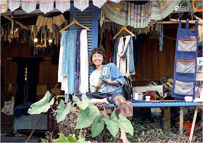 Đôi bàn tay màu xanh và cuộc sống tự do của cô gái 9X bỏ phố về bản tự tay trồng lúa, nhuộm chàm, sống cả năm không sờ đến tiền - Ảnh 17.