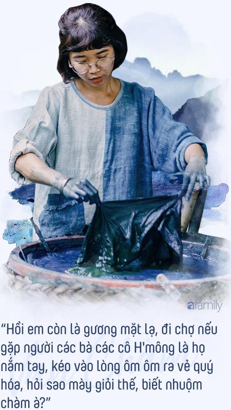Đôi bàn tay màu xanh và cuộc sống tự do của cô gái 9X bỏ phố về bản tự tay trồng lúa, nhuộm chàm, sống cả năm không sờ đến tiền - Ảnh 4.