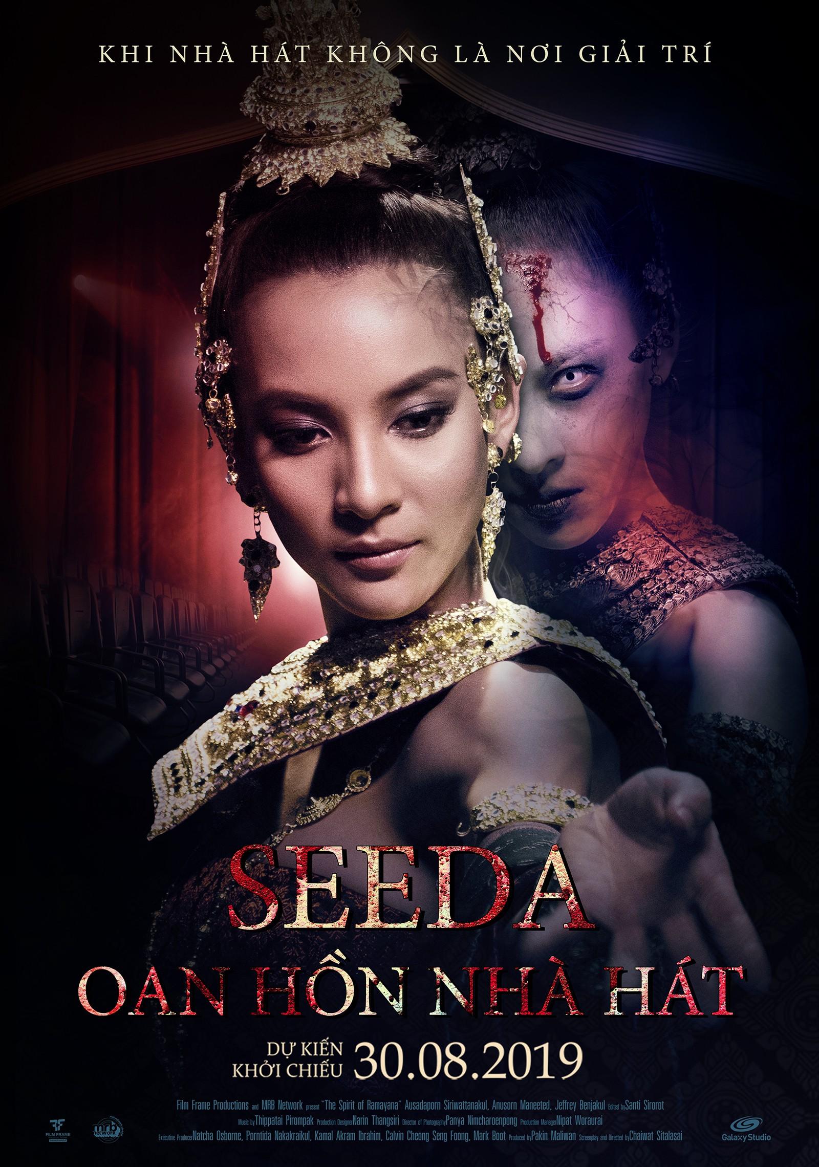 """Phim ma Thái """"Seeda: Oan hồn nhà hát"""" tung trailer khiến ai cũng phải rùng mình - Ảnh 1."""