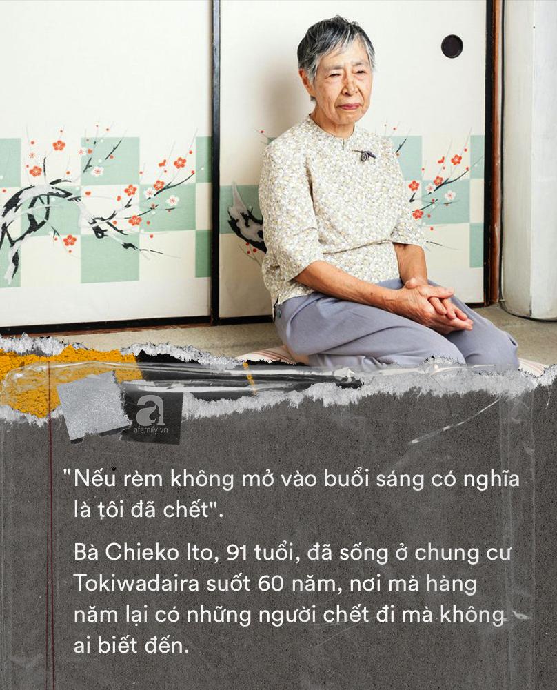 Nỗi sợ bao trùm người già ở Nhật Bản: Những cái chết cô đơn không ai biết, thi thể nằm đó bốc mùi chẳng ai hay - Ảnh 10.