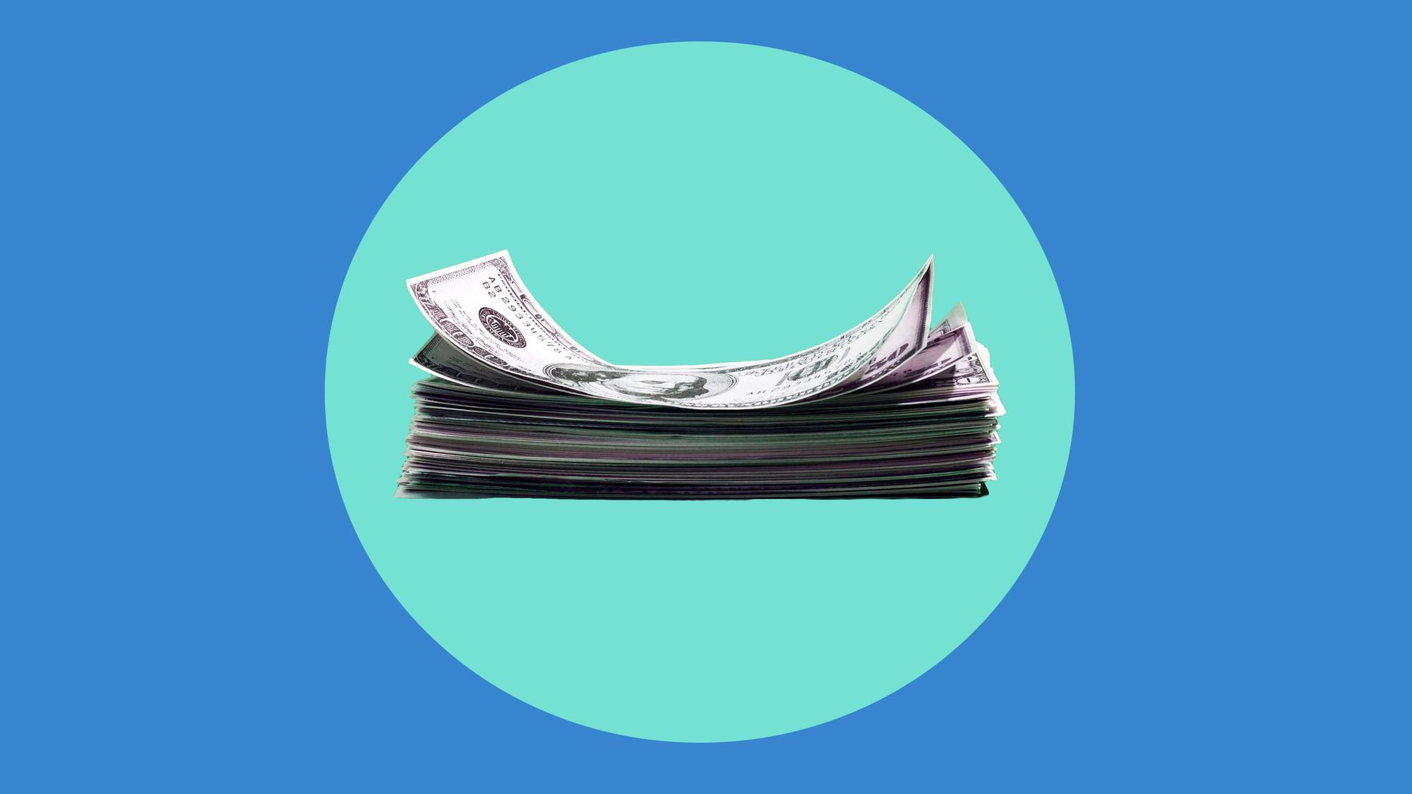 chân lý kiểm soát tiền nong - money stack wage gap illustration 1565191752330948985236 - Sống tằn tiện và chi tiêu như người nghèo: Chân lý kiểm soát tiền nong mà người giàu chẳng mấy khi chia sẻ