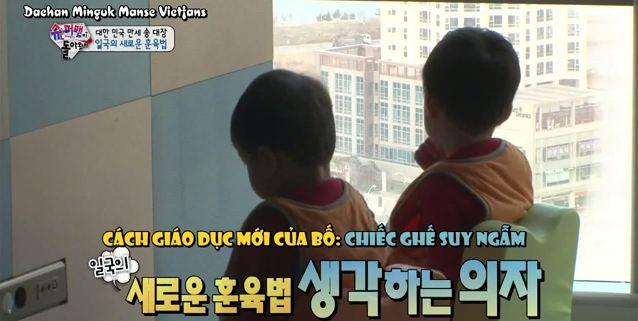 """Dạy con đã khó nhưng """"Ông bố quốc dân"""" Song Il Gook phải chóng mặt với đàn con sinh 3  - Ảnh 3."""