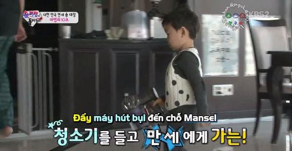 """Dạy con đã khó nhưng """"Ông bố quốc dân"""" Song Il Gook phải chóng mặt với đàn con sinh 3  - Ảnh 5."""