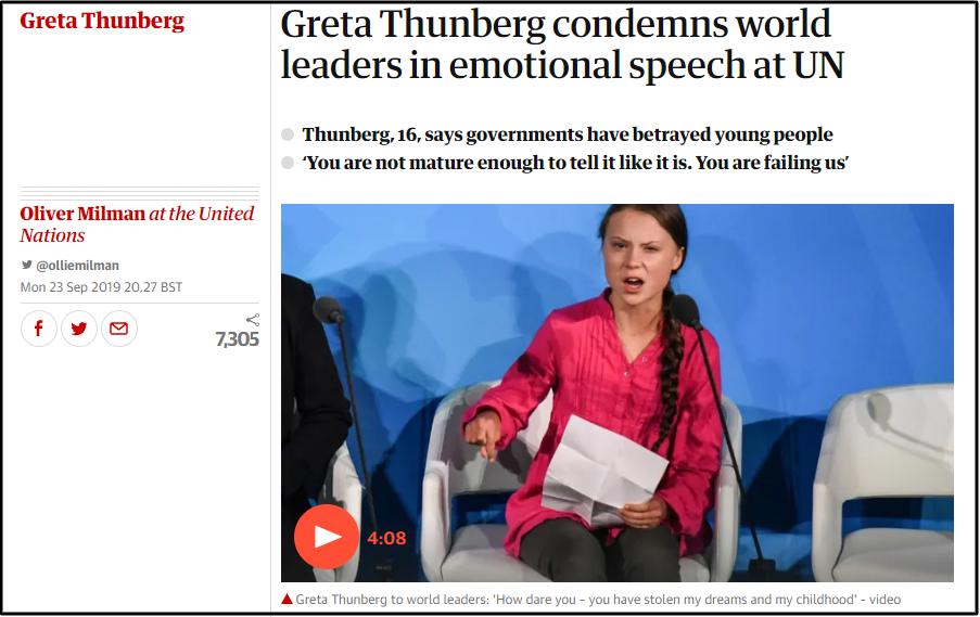 Greta Thunberg - Nữ chiến binh chống biến đổi khí hậu 16 tuổi và cái gan quát mắng các lãnh đạo thế giới: Các ông khiến chúng tôi thất vọng - Ảnh 3.