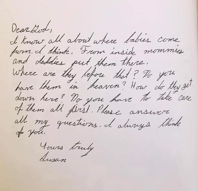 Cười ngất với những bức thư gửi Chúa ngộ nghĩnh của học sinh lớp 3 - Ảnh 12.