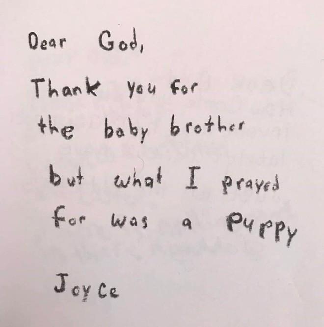 Cười ngất với những bức thư gửi Chúa ngộ nghĩnh của học sinh lớp 3 - Ảnh 2.