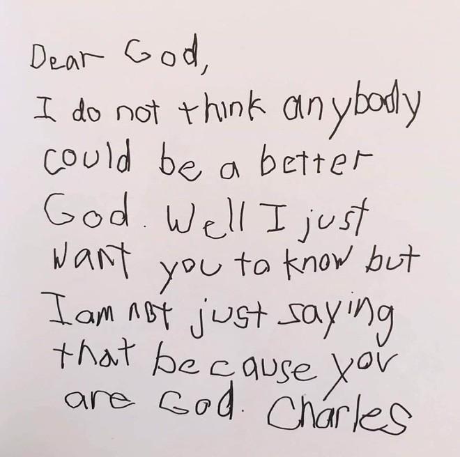Cười ngất với những bức thư gửi Chúa ngộ nghĩnh của học sinh lớp 3 - Ảnh 5.