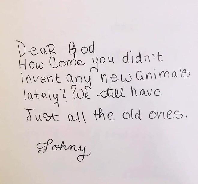 Cười ngất với những bức thư gửi Chúa ngộ nghĩnh của học sinh lớp 3 - Ảnh 6.