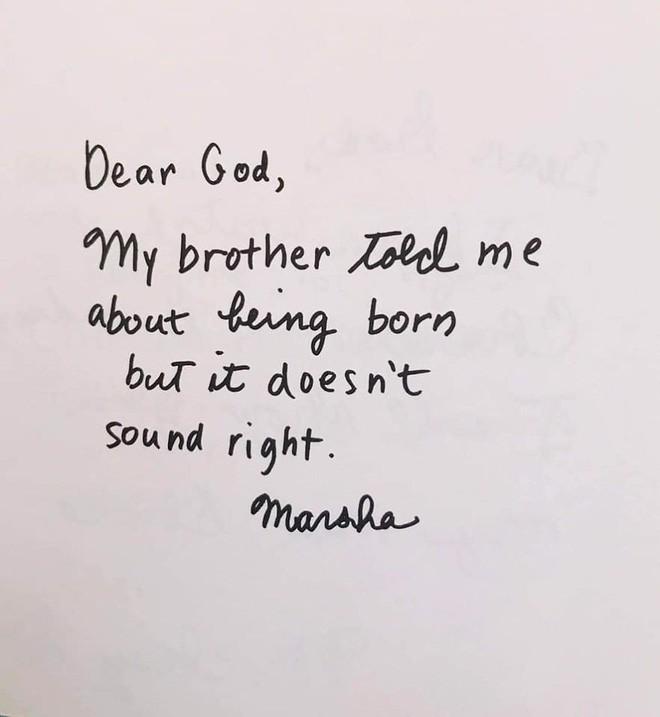 Cười ngất với những bức thư gửi Chúa ngộ nghĩnh của học sinh lớp 3 - Ảnh 9.