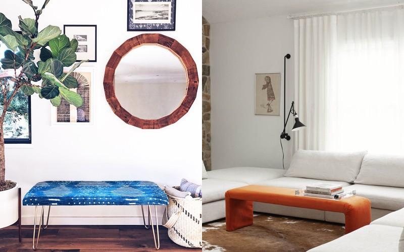 10 ý tưởng làm ghế băng bọc đệm, không chỉ thêm chỗ nghỉ ngơi mà còn khiến căn nhà thay đổi bất ngờ