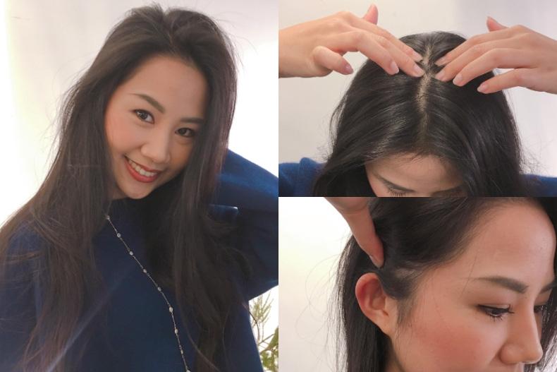 Đường ngôi tóc quá 0,8cm tức là bạn đang có nguy cơ hói, hãy ấn ngay vào 3 điểm này trên đầu để ngăn rụng tóc  - Ảnh 1.