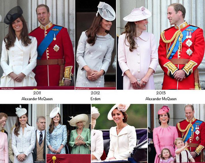 """Meghan Markle bao lần như """"tát vào mặt"""" cả Hoàng gia Anh, lên đồ lấn lướt cả Công nương Diana và Kate Middleton - Ảnh 3."""