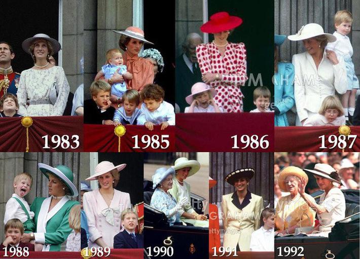 """Meghan Markle bao lần như """"tát vào mặt"""" cả Hoàng gia Anh, lên đồ lấn lướt cả Công nương Diana và Kate Middleton - Ảnh 2."""