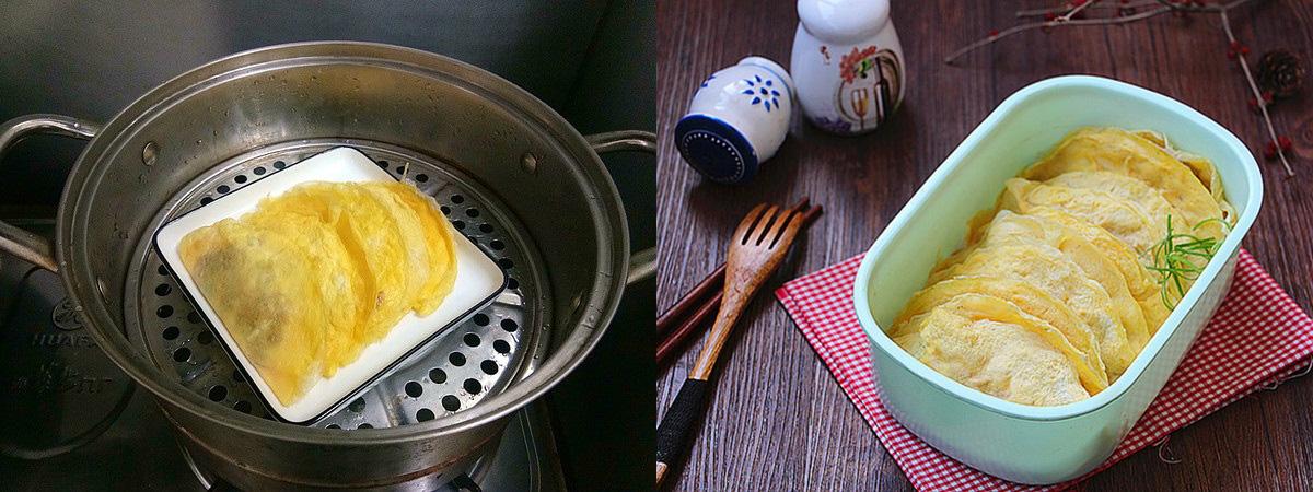 Trứng bọc thịt hấp ngọt ngon đẹp mắt - Ảnh 5.