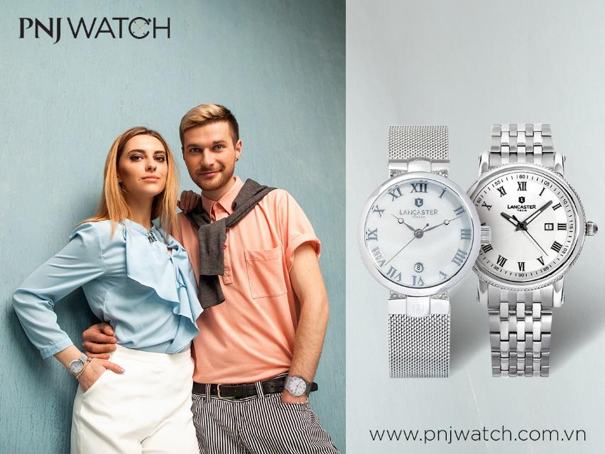 Top 4 cặp đồng hồ Lancaster lý tưởng cho đôi bạn thân - Ảnh 4.