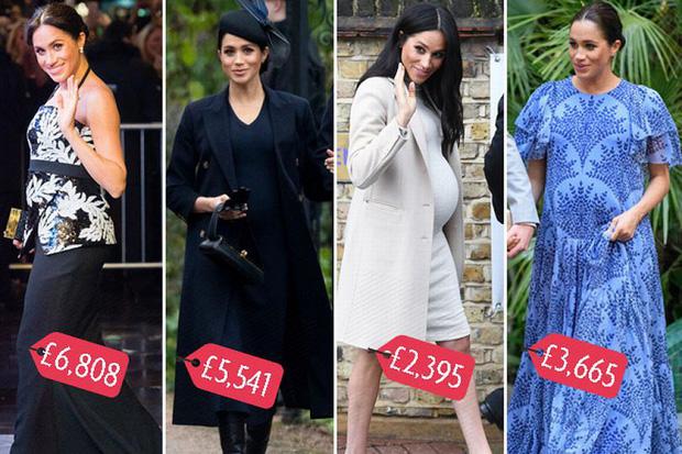 """Meghan Markle bao lần như """"tát vào mặt"""" cả Hoàng gia Anh, lên đồ lấn lướt cả Công nương Diana và Kate Middleton - Ảnh 7."""